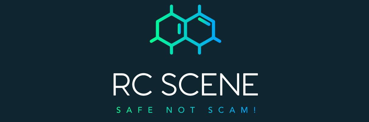 RC Scene - Trusted RC shops - Logo in blue