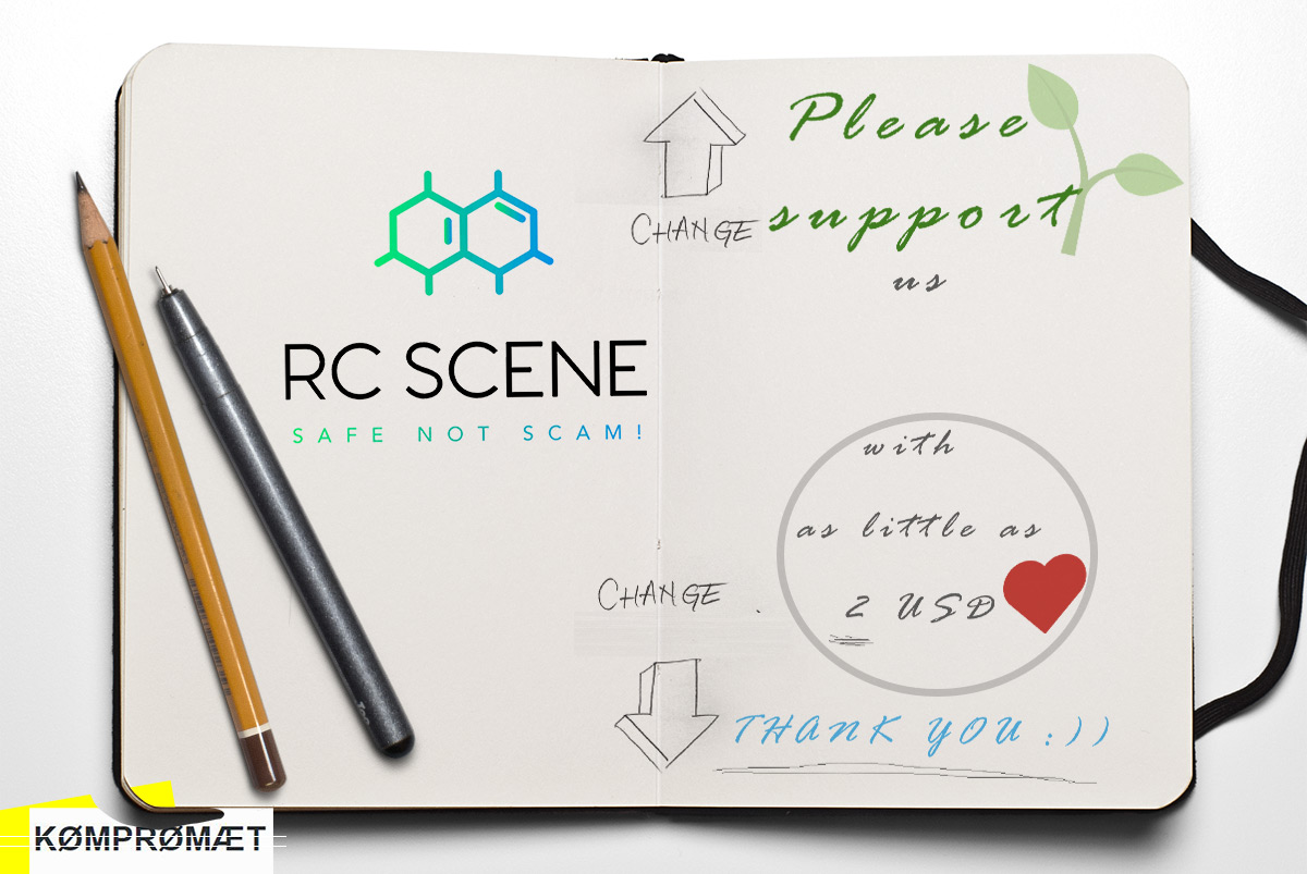 Donations - Please support RC SCENE with as little as 2 USD - Thank you!