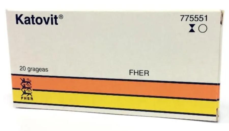 Katovit medicine pack