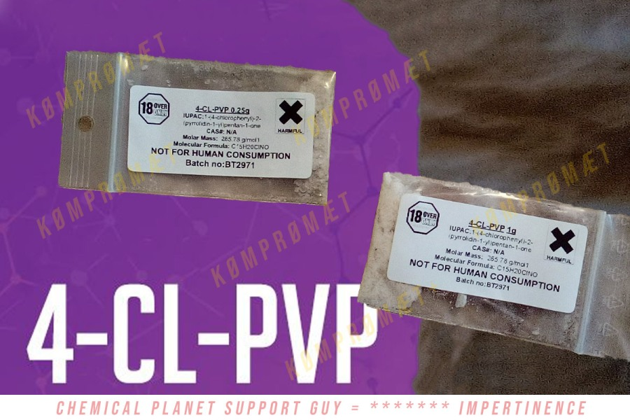 4-CL-PVP Research Chemical Sample by chemicalplanet.net