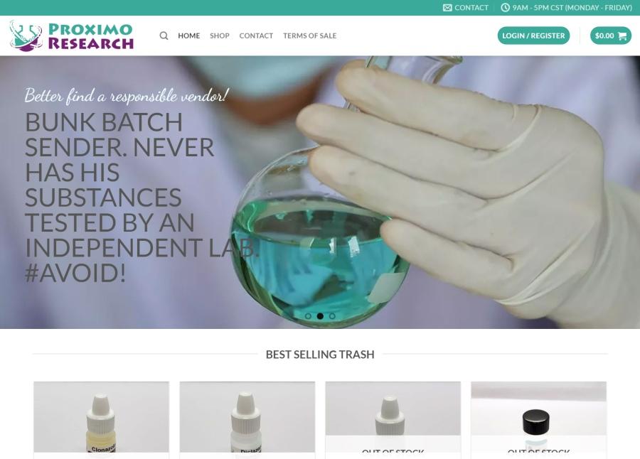 Proximo Research USA vendor website