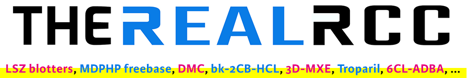 The Real RC research chemicals shop logo