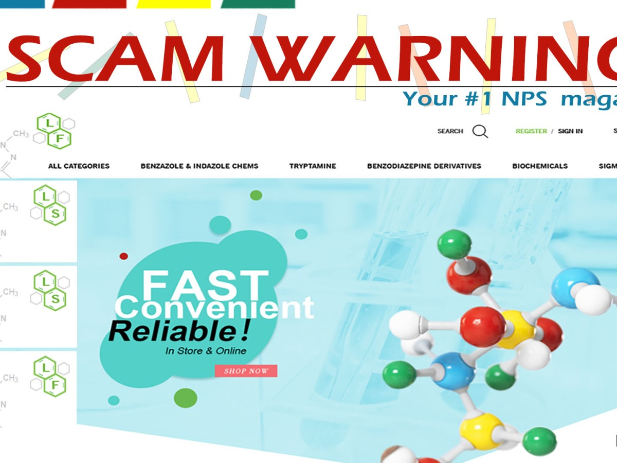 SCAM WARNING: lsresearchchem.com and longflourishchems.com are scam websites